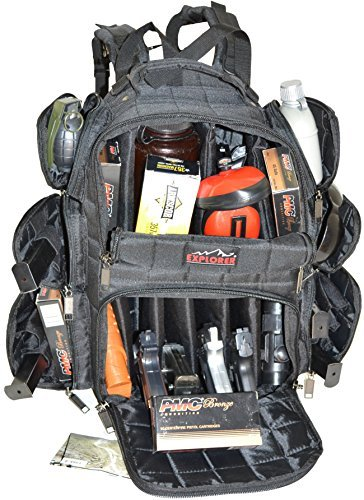 When You Take A Look At The Backpack Range Bag With Large Padded Deluxe Tactical Divider And 9 Clip Mag Holder Rangemaster Gear Explorer