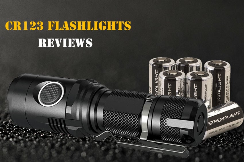 Best CR123 Flashlight Reviews