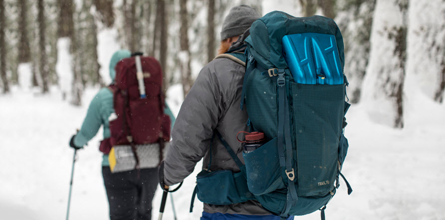 rugged waterproof backpack for winter