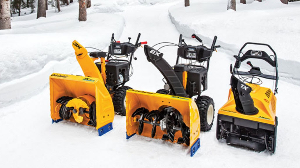 single stage two stage snow blowers