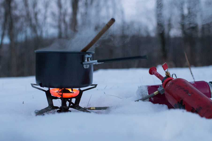 stove for snow backpacking