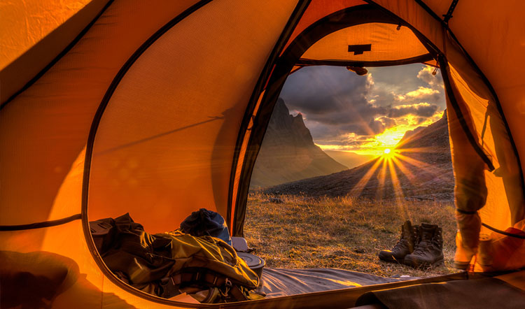A good tent for camping