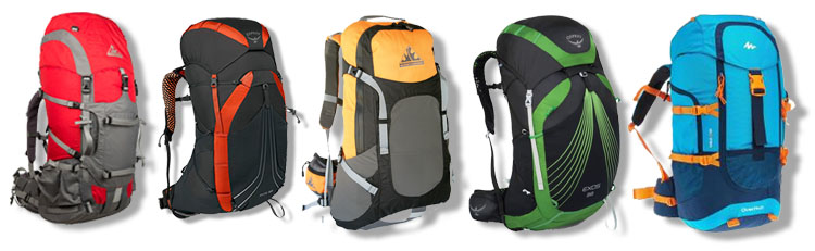 Choosing a suitable backpack