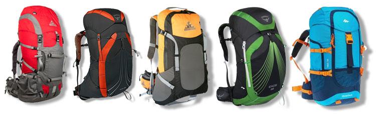 Choosing a suitable backpack