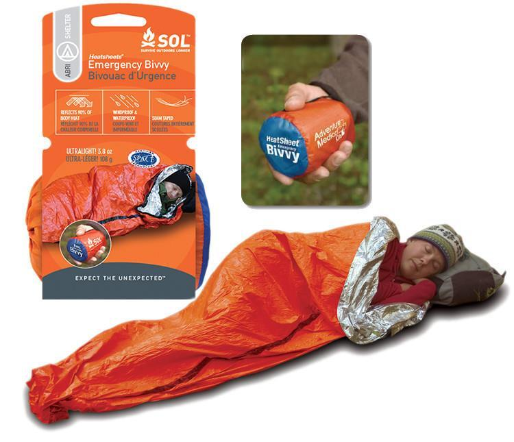 Emergency bivy sack