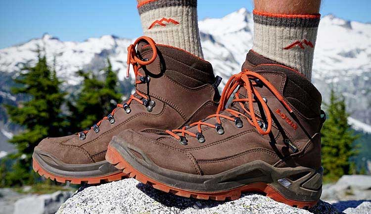 Footwear for hiking