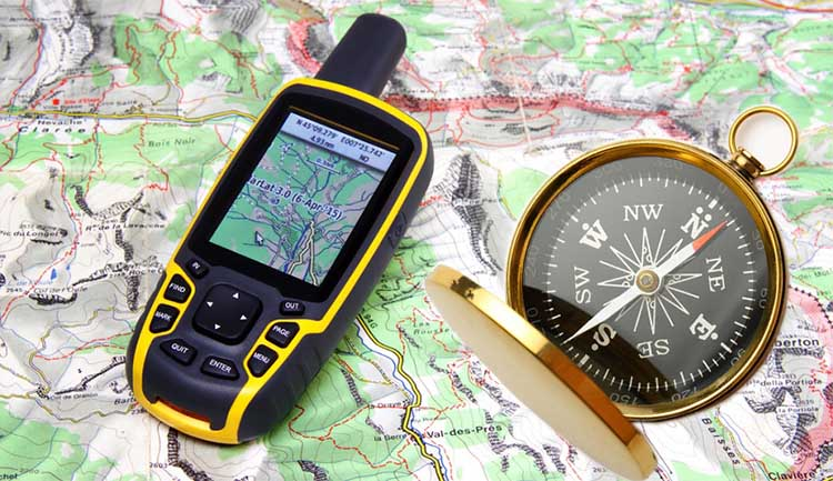 Maps, Compasses and GPS