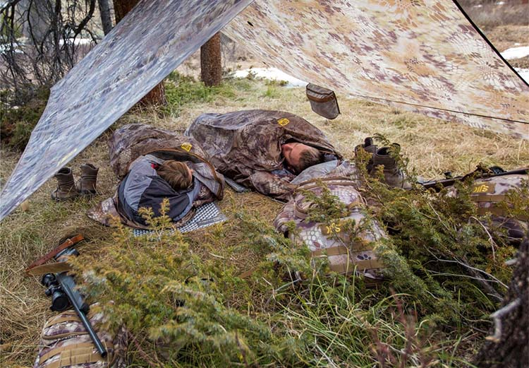 Bivy sack when hunting