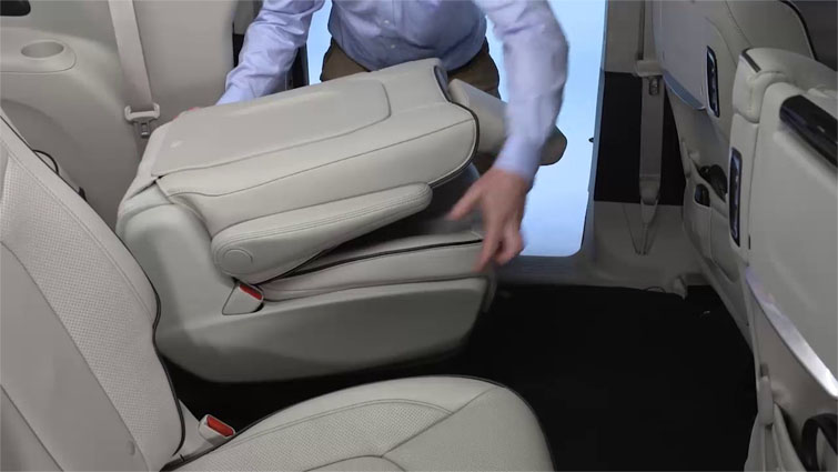 Car that comes with removable backseats