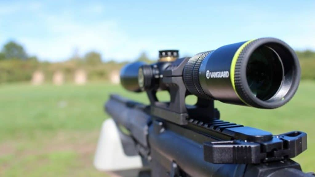 Medium Range Rifle Scopes