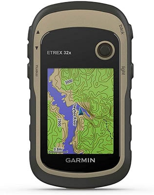 Garmin eTrex 32x coming with preloaded maps and a color-display