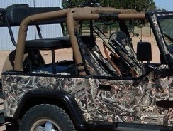 How to upgrade your jeep for hunting ?