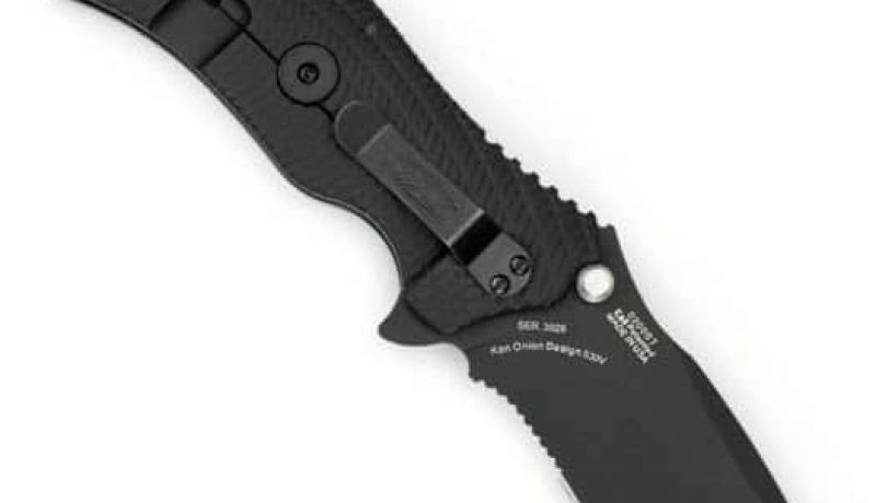 Zero Tolerance ZT0350TS G10 Handle Folding Tiger Striped Blade with SpeedSafe Review